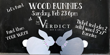 'Wood Bunnies' at the Verdict February 23 tickets