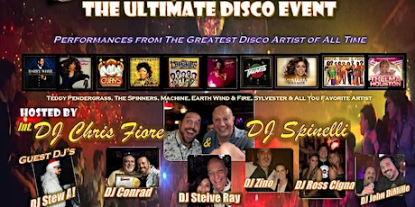 The ULTIMATE DISCO EVENT tickets