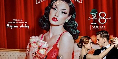 Cupid's Latin Cabaret at Indigo's Penthouse  tickets