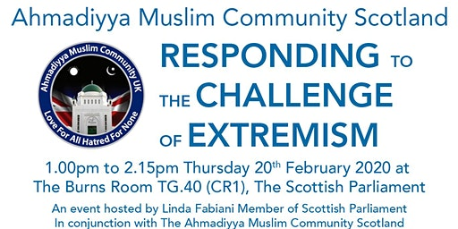 """""""RESPONDING TO THE CHALLENGE OF EXTREMISM"""""""