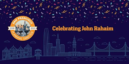 Celebrating John Rahaim: Fundraiser for Community Arts Stabilization Trust