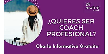 """Charla Informativa Programa : """"El Arte del Coaching Profesional"""" entradas"""