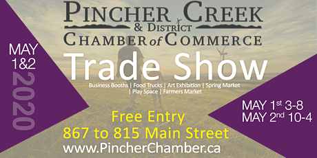 2020 Pincher Creek Trade Show tickets