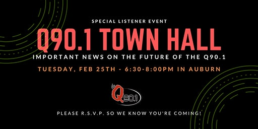 Q90.1 Town Hall (Important Event)
