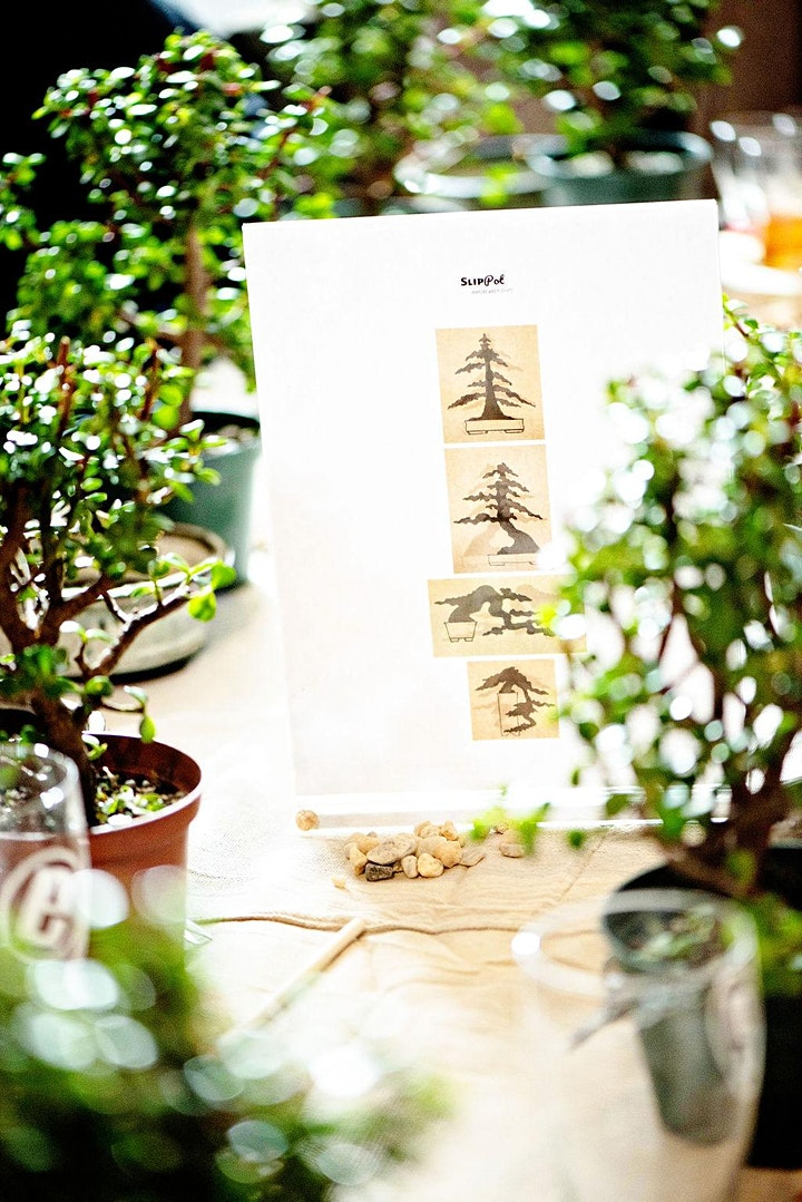 Beer and Bonsai at Moss Mill Brewing Co. image