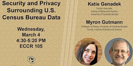 TCP Seminar: Myron Gutmann and Katie Genadek tickets