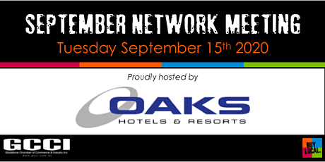 GCCI September Network Meeting tickets