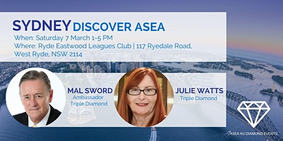 Sydney Discover ASEA with Mal Sword