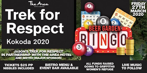Bingo in the Beer Garden