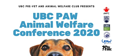 UBC PAW Animal Welfare Conference  - Companion Animal Welfare tickets