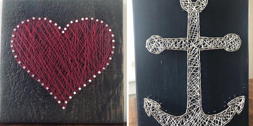 DIY String Art by Woodworks by the bay