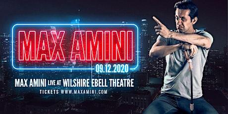 Max Amini Live in Los Angeles - 2020 World Tour tickets
