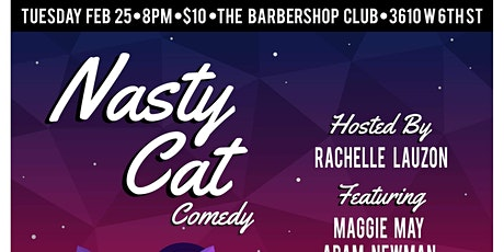 Nasty Cat Comedy tickets
