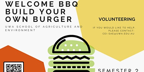 Welcome BBQ - Build your own burger - Semester 2 tickets