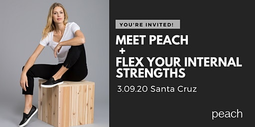Meet Peach + Flex Your Internal Strengths
