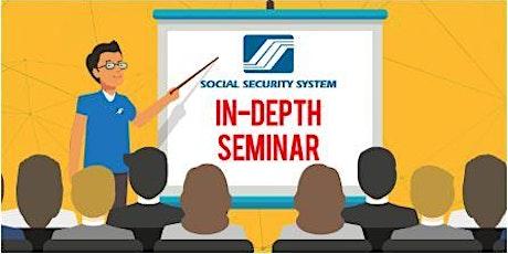 SSS In-Depth Information Seminar tickets