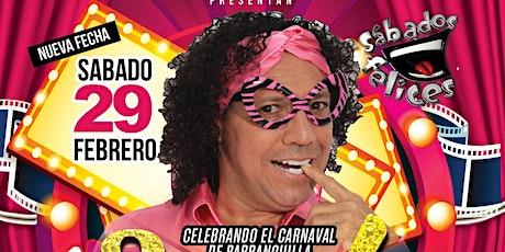 Joselo Celebrando el Carnaval de Barranquilla tickets