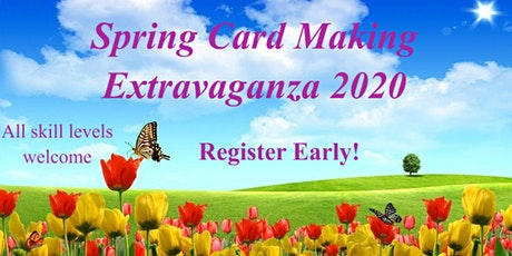 Zonta Spring Card Making Extravaganza 2020 tickets