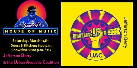 Jefferson Berry & the Urban Acoustic Coalition tickets