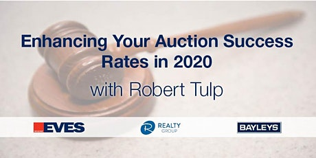 Auction Training with Robert Tulp tickets