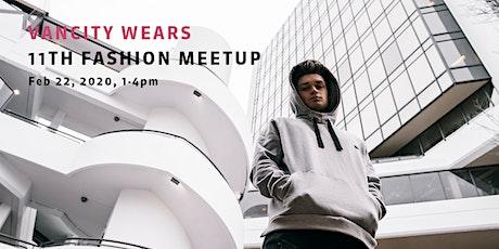 Vancity Wears Meetup #11 tickets