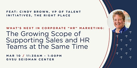 What's Next in Corporate HR Marketing: The growing scope of supporting sales and HR teams at the same time tickets