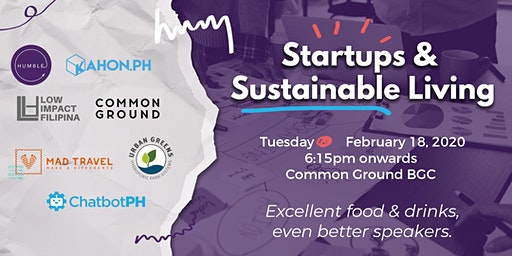 Startups and Sustainable Living