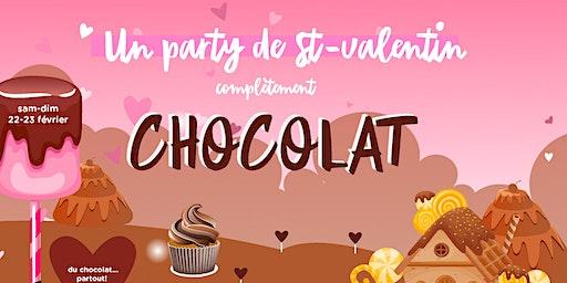 LA  ST-VALENTIN COMPLÈTEMENT CHOCOLAT