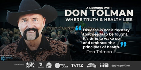 Don Tolman WHERE TRUTH & HEALTH LIES: Sydney tickets
