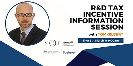 R&D Tax Incentive Information Session tickets