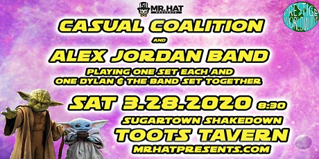 Casual Coalition & Alex Jordan Band- Alone and Together tickets