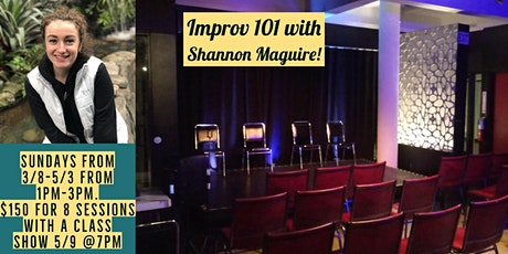 Improv 101 with Shannon Maguire tickets