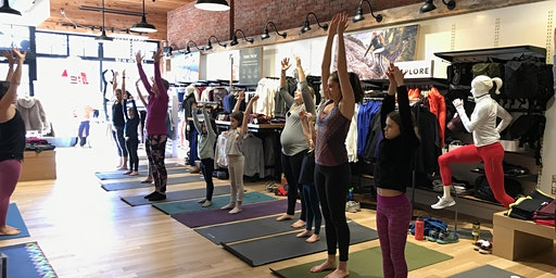 Mother/Daughter Community Yoga