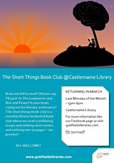 CANCELLED - Short Things Book Club tickets