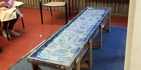 Second  Ladies Night for  Create your own  Marbled Silk Scarf tickets