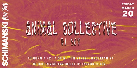 Animal Collective (DJ Set) tickets
