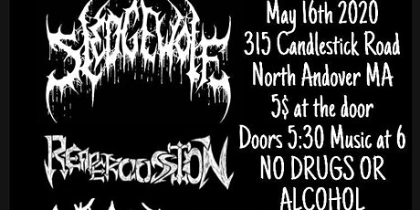 Sledge Wolf, Reapercussion, Wretched Inferno, Obliviation tickets