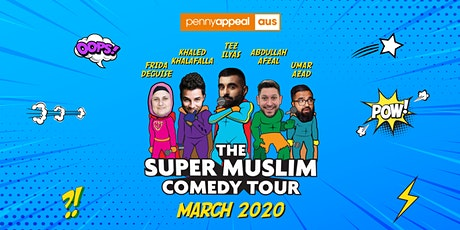 BRISBANE - Super Muslim Comedy Tour 2020 tickets