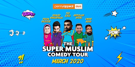 MELBOURNE - Super Muslim Comedy Tour 2020 tickets