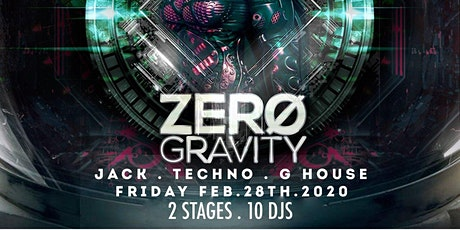 Alien8Events Presents: Zero Gravity tickets
