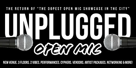 Unplugged Open Mic & Showcase tickets