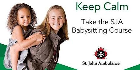 St John Ambulance Babysitting Basics 11-16yrs tickets