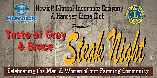 Taste of Grey & Bruce Steak Night