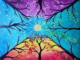 An Evening w/ Paintergirl~Thru The Seasons~Painting & Tapas~ALL AGES!