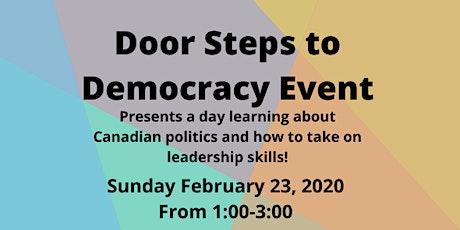 Door Steps to Democracy Event  tickets