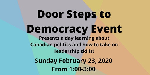 Door Steps to Democracy Event