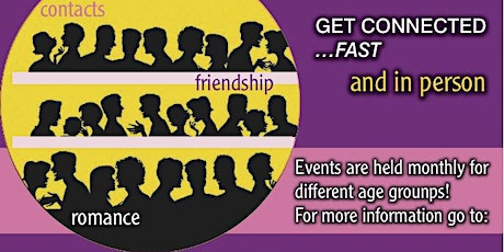 Speed Dating: Ages 35-49! Still Space for Men to Attend! tickets