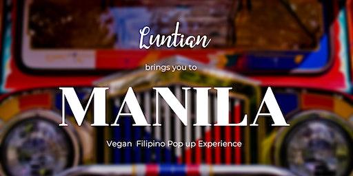 Vegan Filipino Pop Up Cultural Foodie Experience