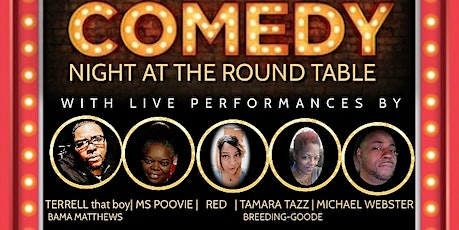 Comedy Night At The Round Table tickets