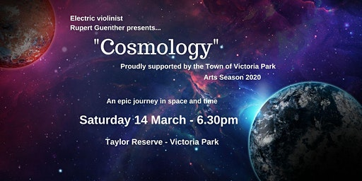 """Electric Violinist Rupert Guenther presents """"Cosmology"""""""